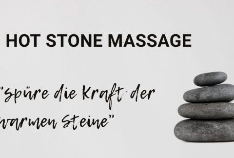 NEU ! Hot Stone Massage!